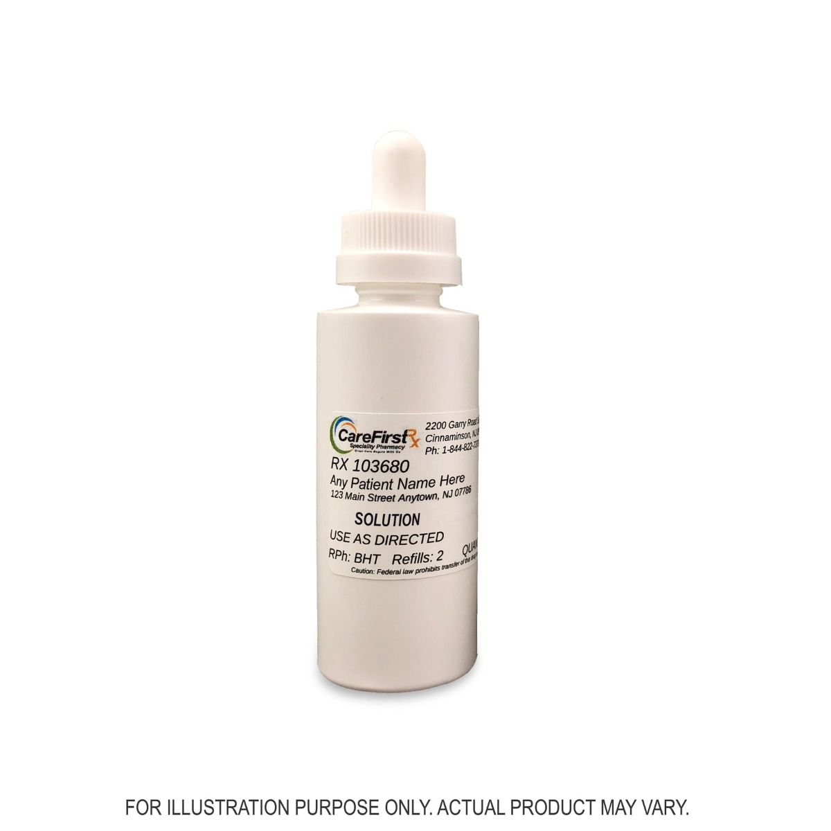 Minoxidil Finasteride Azelaic Acid Progesterone Tretinoin Topical Solution Compounded