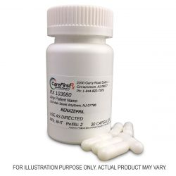 Benazepril Capsules Compounded