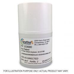 Hydroquonone/Kojic Acid/Ascorbic Acid Cream Compouned