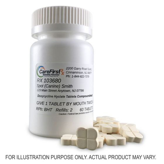 Doxycycline Hyclate Tablets Compounded