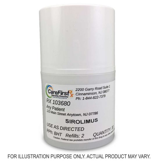 Sirolimus Topical Compounded